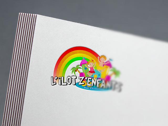Logo L'îlot Z'enfants