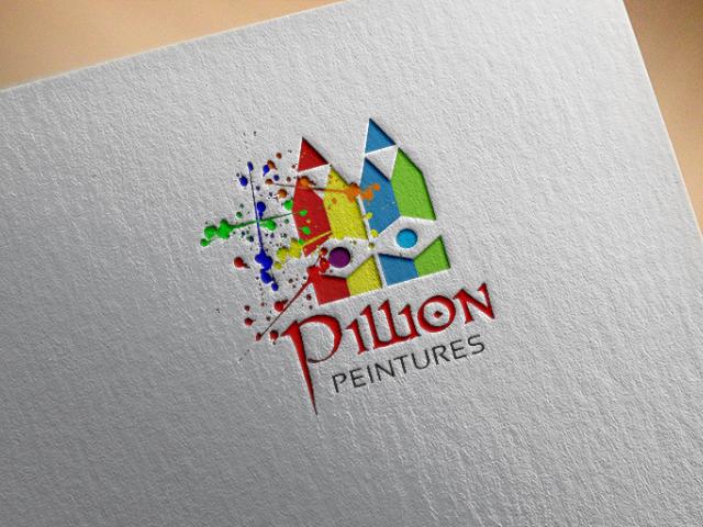 Logo Pillion Peintures